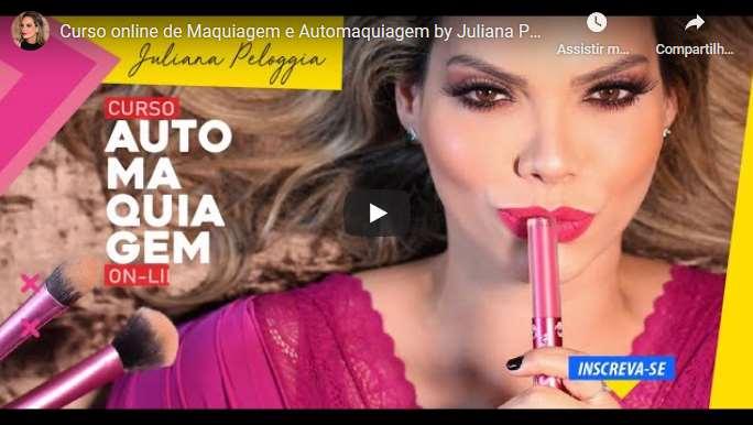 Curso de Maquiagem e Automaquiagem Juliana Peloggia 2020